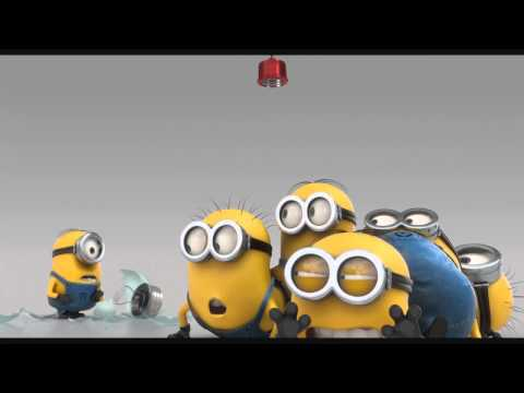 Minions - Cow Cup , The Stars Are Brighter , Evil Minion Animation Test , Banana Song video