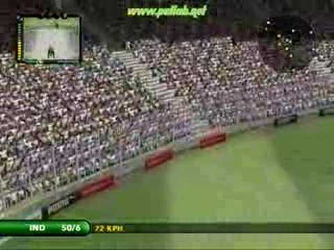 EA Sports Cricket 07 : Gameplay Video (Batting)