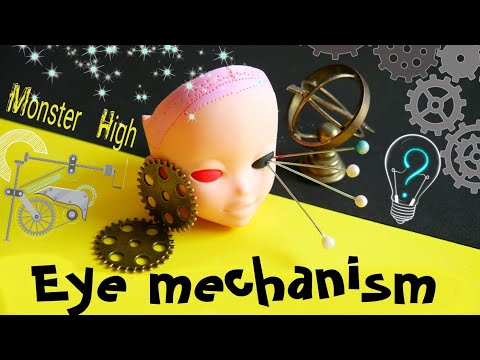 ✂cut eyes 🔥 Eye mechanism for dolls ooak 👀 Monster high repaint custom interchangeable eyes