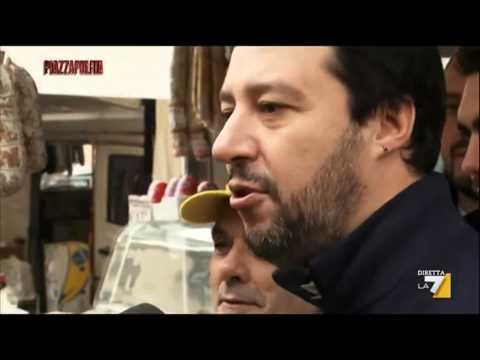 EMILIA ROMAGNA - Matteo Salvini - Piazzapulita, 24112014