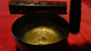Singing Bowl with Water - Cuenco Tibetano con agua
