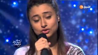 Algerian young girl  sings turkish song