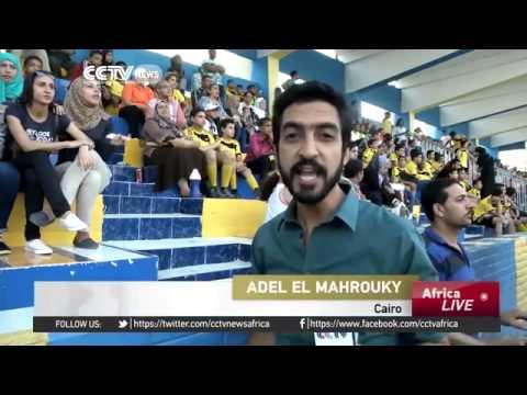 5827 sport CCTV Afrique Wadi Degla win Egypt's women football league