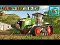 🔴 LS19 LIVESTREAM #3 mit Gadarol und Dir! Farming Simulator 19