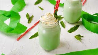 "Keto Mint Shamrock Shake Recipe - Tasty ☘ St Patricks Day ☘ Low-Carb Milkshake""2g Net Carbs"" (Easy)"