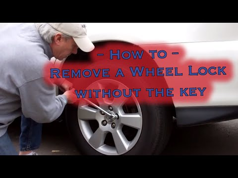 Wheel Lug Nut Lock Removal Without Key