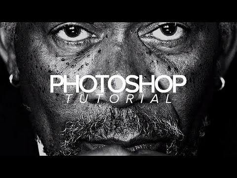 black and white photography tutorial photoshop