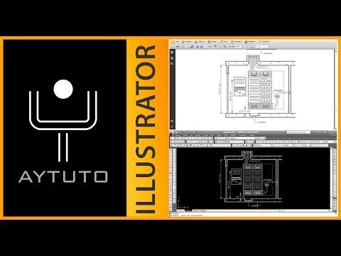 Pasar un .PDF a .DXF con ILLUSTRATOR