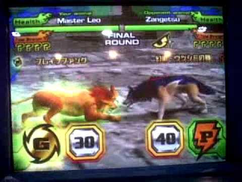 Master Anime Animal Kaiser Master Leo Super