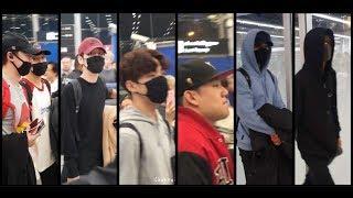 [Fancam]180101 Day6, Khun and Nakjoon at Suvarnbhumi airport