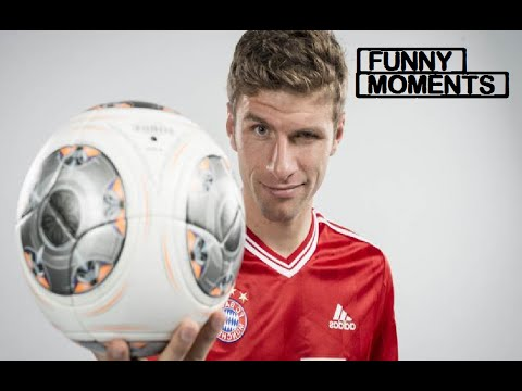 Thomas Müller | Funny Moments | HD