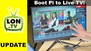 Booting a Raspberry Pi Directly to Live TV with Kodi! Cord Cutting DVR Project Part 5