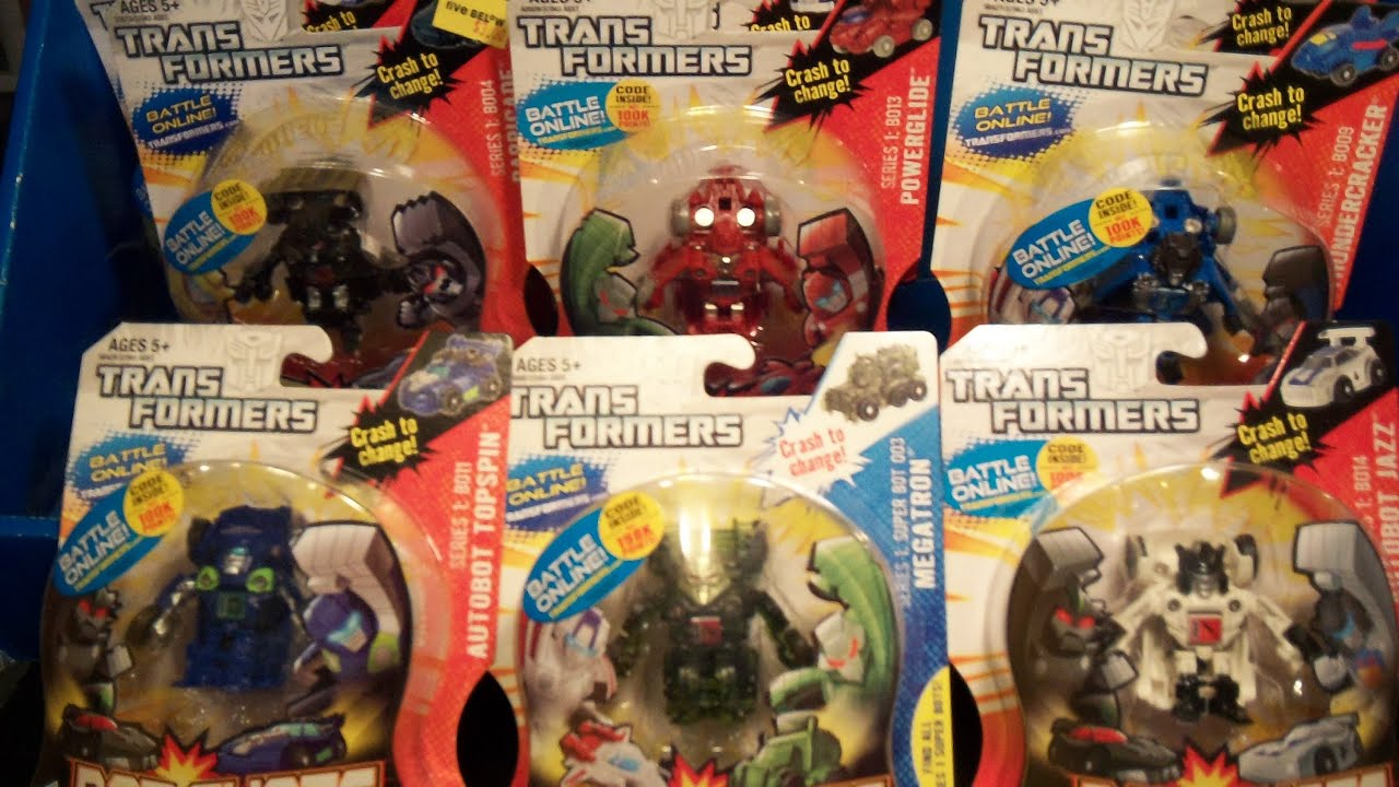 Toys From Five Below : Transformers bot shots toy run haul and review five