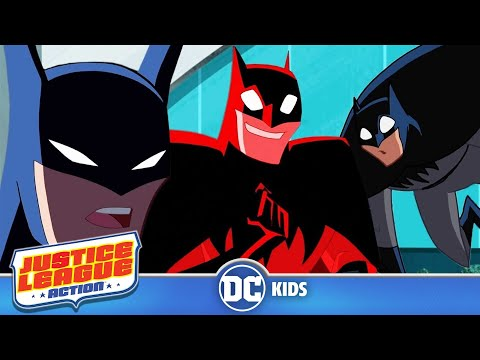 Top 10 Batman Moments | Justice League Action | DC Kids