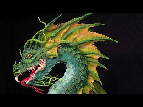 Paper Mache Sea Dragon