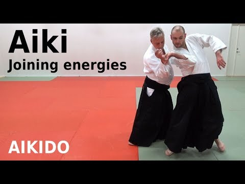 AIKI (joining energies) applications in aikido, by Stefan Stenudd, 7 dan Aikikai shihan