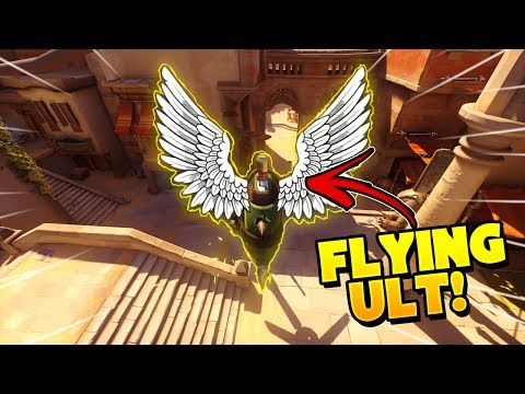CRAZY FLYING Junkrat Ult Trick!! - Overwatch Funny Moments & Best Plays 15