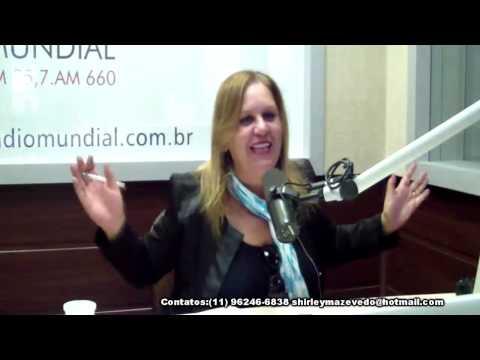 Brasil Cigano,Cigana Shirley de Azevedo,Radio Mundial,17-06-2015