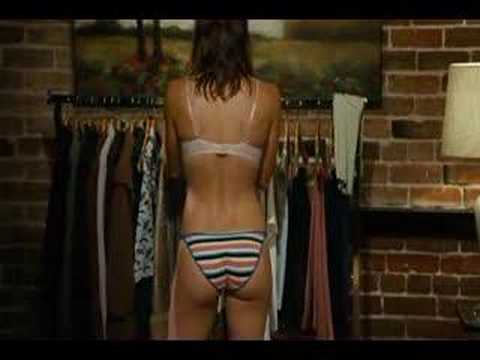 JESSICA BIEL Panty Clip - WITHOUT Adam Sandler Video