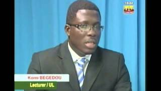 Komi Prosper Begedou Togolese National Television (Ph.D)