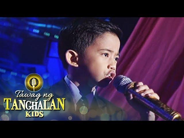 Tawag ng Tanghalan Kids: Jhon Clyd Talili | I Don't Wanna Miss A Thing (Grand Finals)