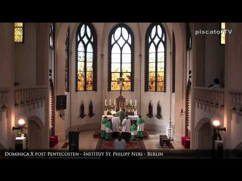 Dominica X post Pentecosten 15 Agnus Dei - Traditional Latin Mass