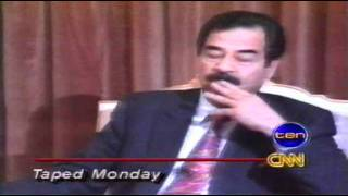 Peter Arnett - Saddam Hussein interview