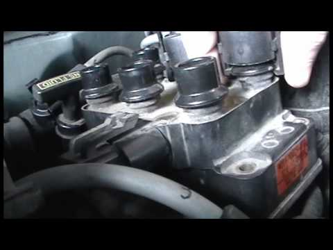 How to Clean Coil Pack Ground Plate on a 95 Ford Explorer