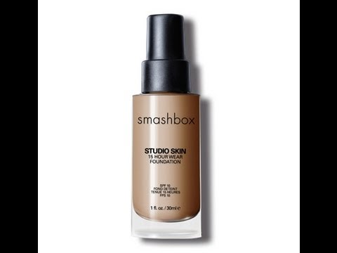 Review &amp; Demo: Smashbox Studio Skin 15 Hour Foundation