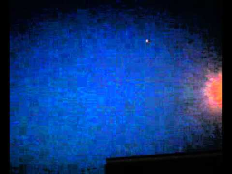 UFO going over Lyndonville, NY on 4th of July!