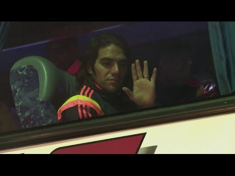 'Falcao won't be rushed back' [AMBIENT]