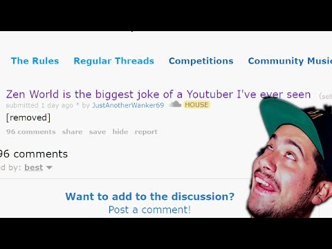 I'm The Worst Youtuber EVER According To Reddit