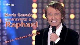 """Raphael en el programa """"La Mañana en La 1"""" con Maria Casado 26-09-2017 RTVE"""