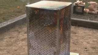 The DR Burn Cage. Backyard burning Done Right!