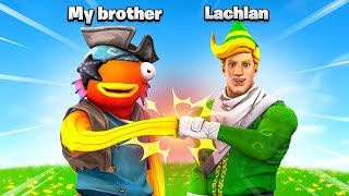 Literally Lachlan and his brother playing Fortnite