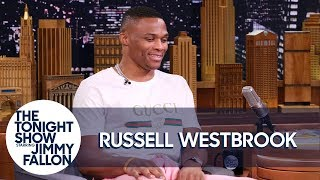 Jimmy Tries to Pull Off Russell Westbrook's Bold Fashion