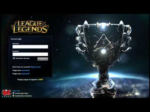 Season 2014 Finals Login Screen