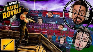 FORTNITE SNIPER VS PARKOUR ! *ÉPICO*