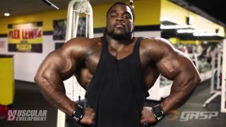 Brandon Curry - Trains Back (4 Weeks Out from the Arnold Classic 2014) !!!