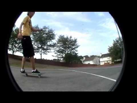 Totally extreme skateboard footage sort of.