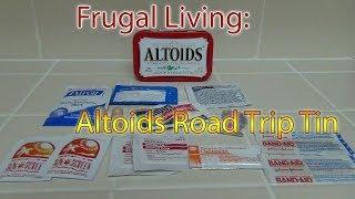 Altoids Road Trip Tin - Frugal Living