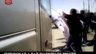 Chevron (dez)informează presa la Pungești