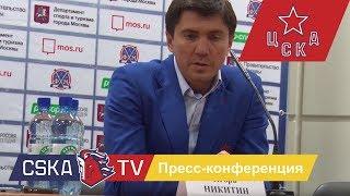 Игорь Никитин: Во второй половине пришлось пообороняться, вратарь помог
