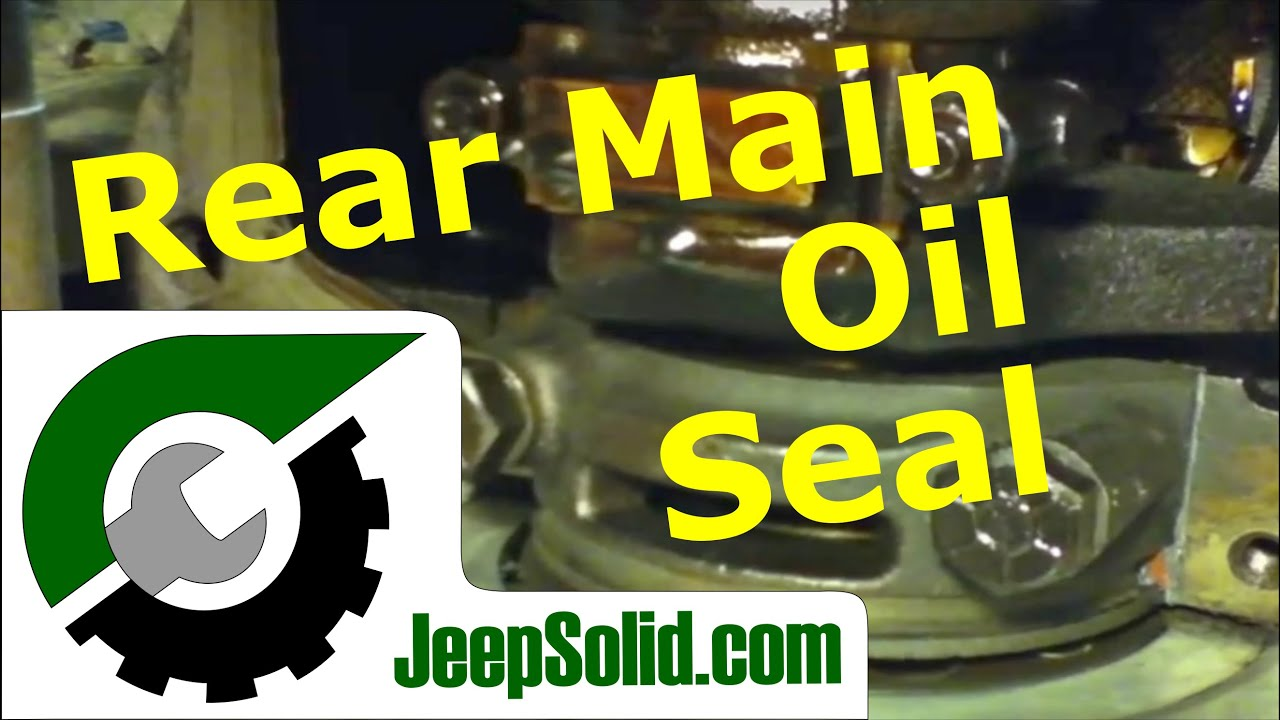 Wrangler Rear Main Seal Jeep Rear Main Oil Seal And
