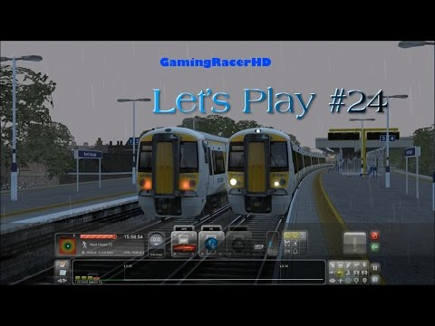 Train Simulator 2015 - Let's Play #24 - South London Network - Delayed Southeastern [1080p 60FPS]