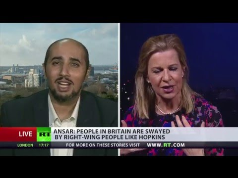 Immigration, deaths & rapes: Katie Hopkins vs Mo Ansar