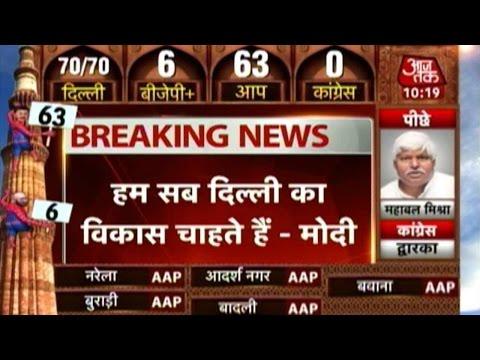 Delhi: PM Modi calls up Arvind Kejriwal to congratulate over win