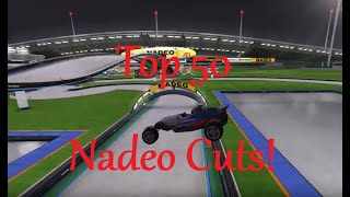 ғฟ๏ Presents: The Top 50 Most Insane Nadeo Cut WRs of All Time