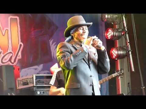Errol Dunkley with Asham Band 2014 Reggae Jam