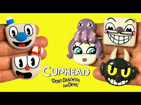 CUPHEAD! Polymer Clay Tutorial